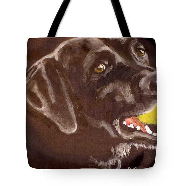 Shadow With Ball Tote Bag