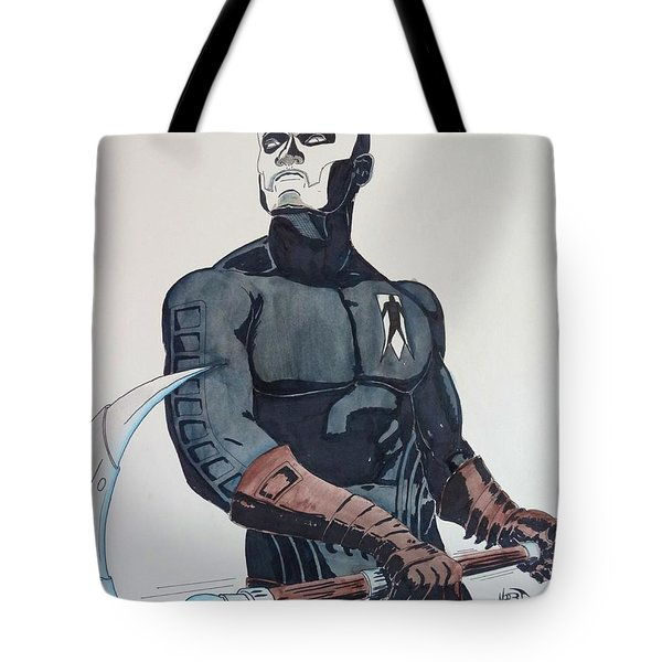 Shadowman II Tote Bag