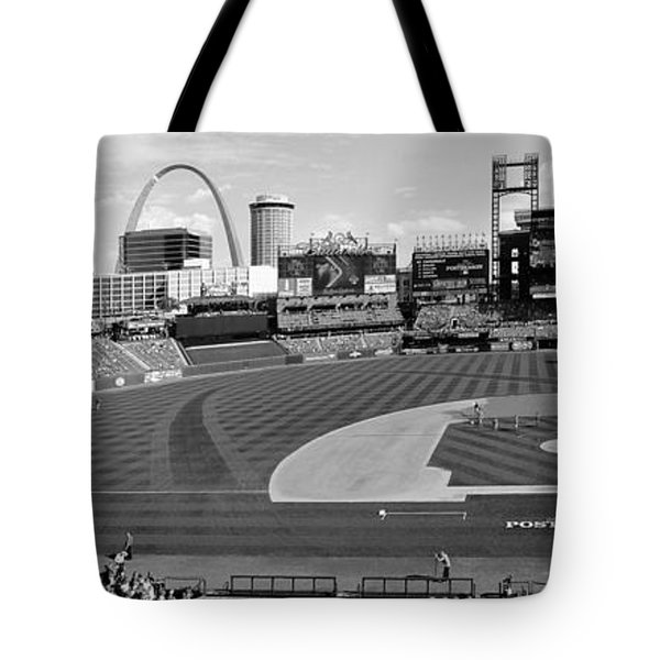 Shadows At Busch B-w Tote Bag