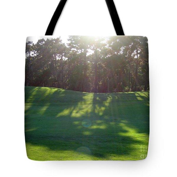 Shadows At Poppy Hills Tote Bag
