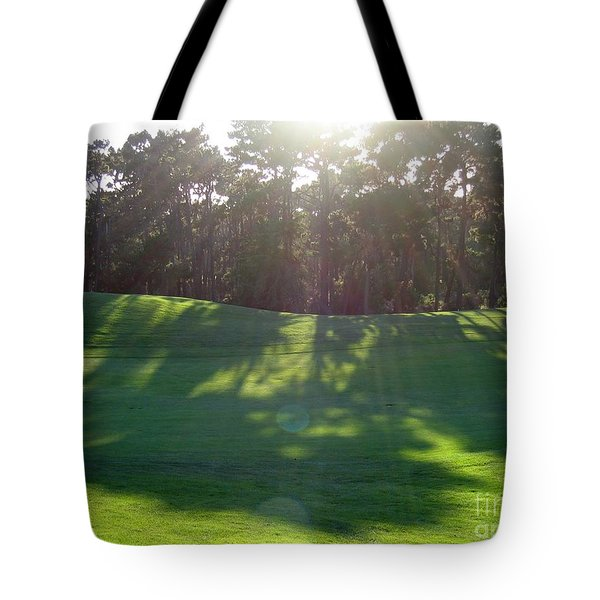 Shadows At Poppy Hills Tote Bag