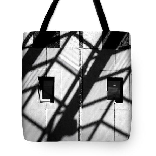 Shadows Canberra Tote Bag by Steven Ralser
