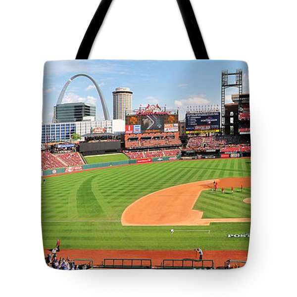 Shadows Fall On Post-season Busch Tote Bag