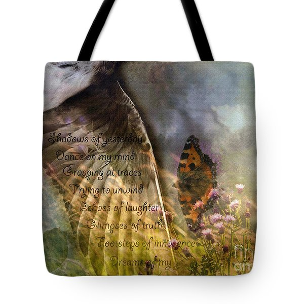 Shadows Of Yesterday Tote Bag