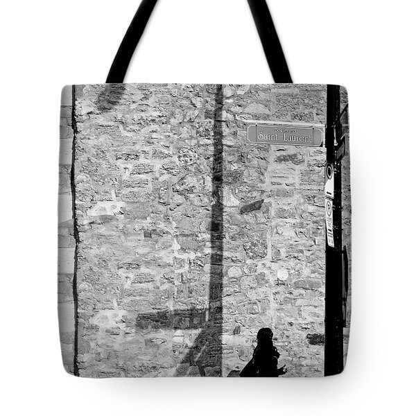 Shadows On St-laurent Tote Bag