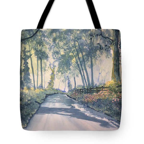 Shadows On The Setterington Road Tote Bag