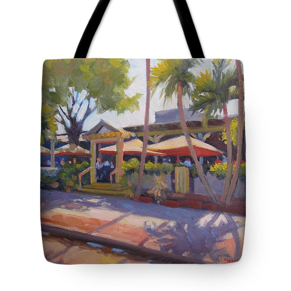 Shadows On Tommy Bahamas Tote Bag by Dianne Panarelli Miller