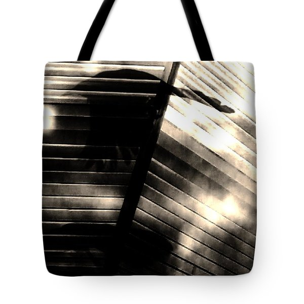 Tote Bag featuring the photograph Shadows Symphony  by Jessica Shelton