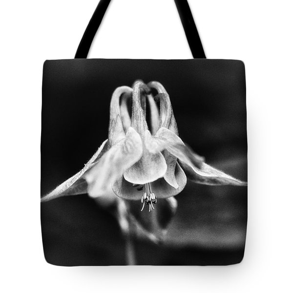 Shady Columbine Tote Bag
