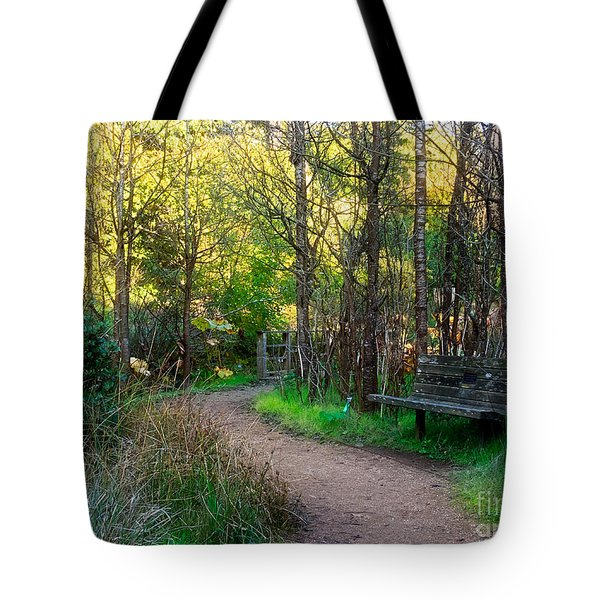 Tote Bag featuring the photograph Shady Dell by Kate Brown