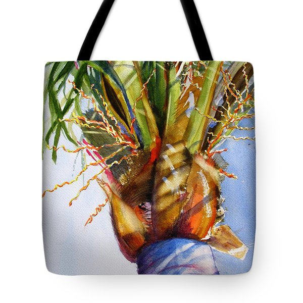 Shady Palm Tree Tote Bag