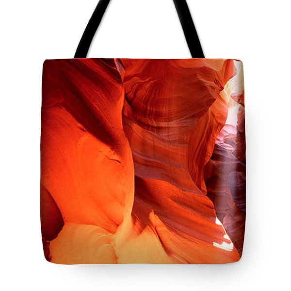 Shaft Of Sunlight In A Canyon, Antelope Tote Bag