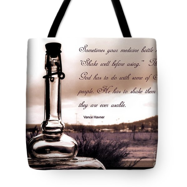 Tote Bag featuring the photograph Shake Well Before Using by Beauty For God