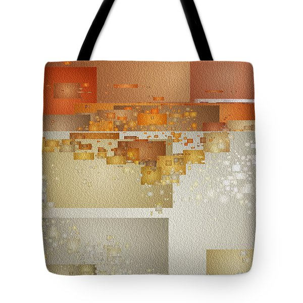 Shaken At Sunset Tote Bag