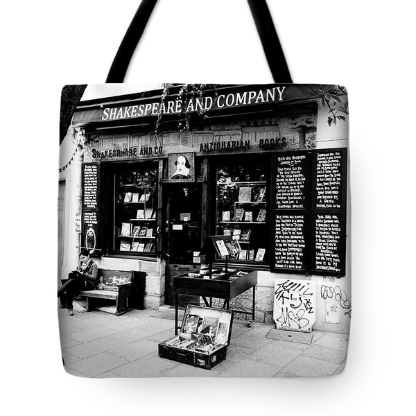 Shakespeare And Company Boookstore In Paris France Tote Bag