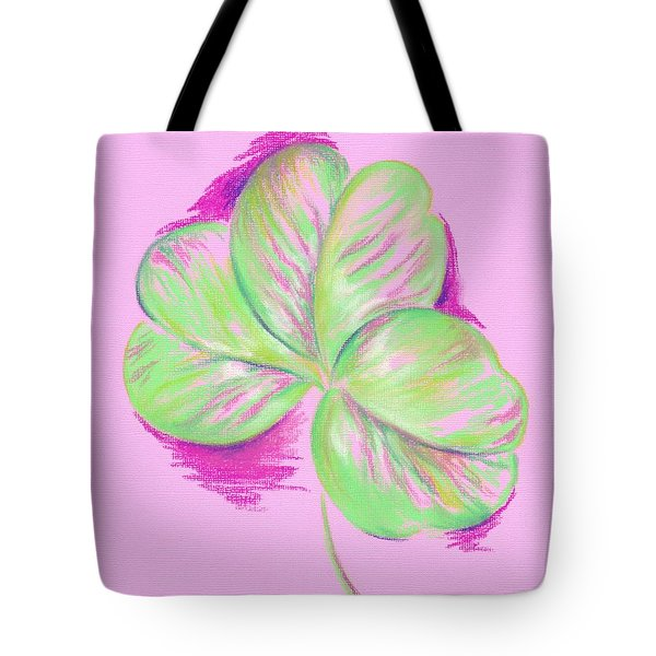 Shamrock Pink Tote Bag by MM Anderson