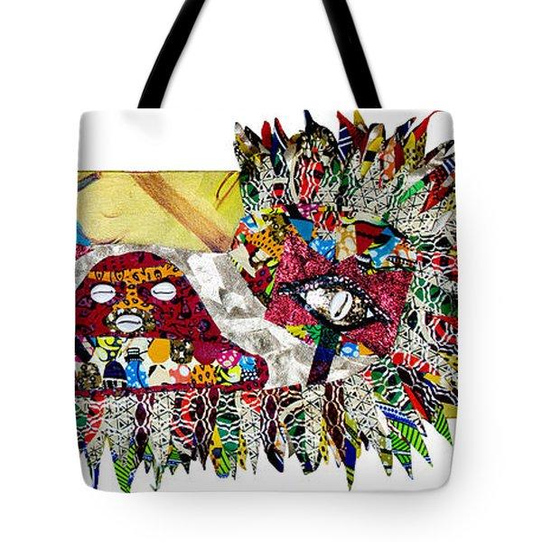 Shango Firebird Tote Bag