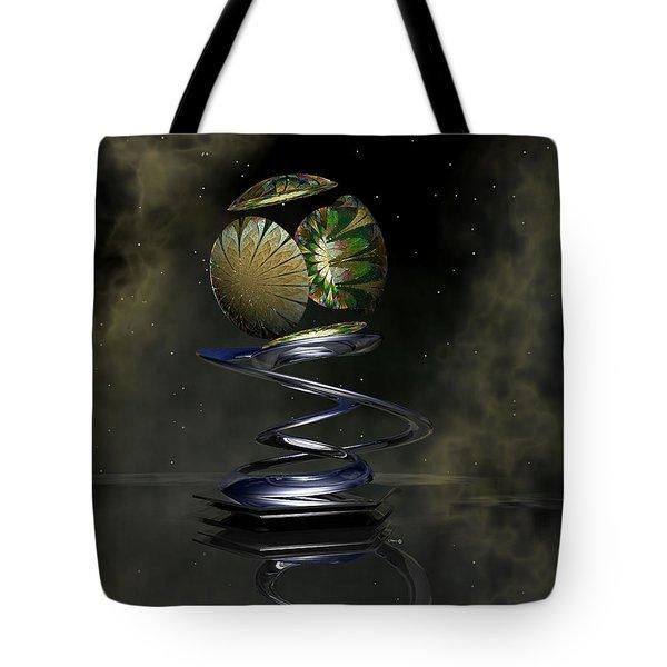 Shapero's Flower Tote Bag by Shari Nees