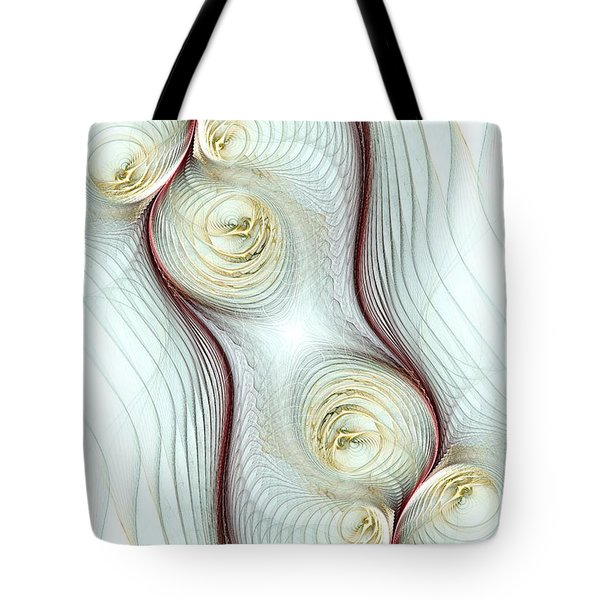 Shapes Tote Bag by Anastasiya Malakhova