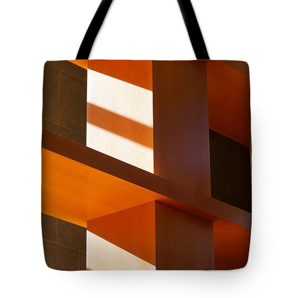 Shapes And Shadows 2 Tote Bag by Ernie Echols