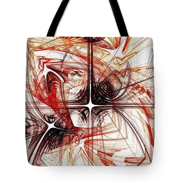 Shapes And Symbols Tote Bag by Anastasiya Malakhova