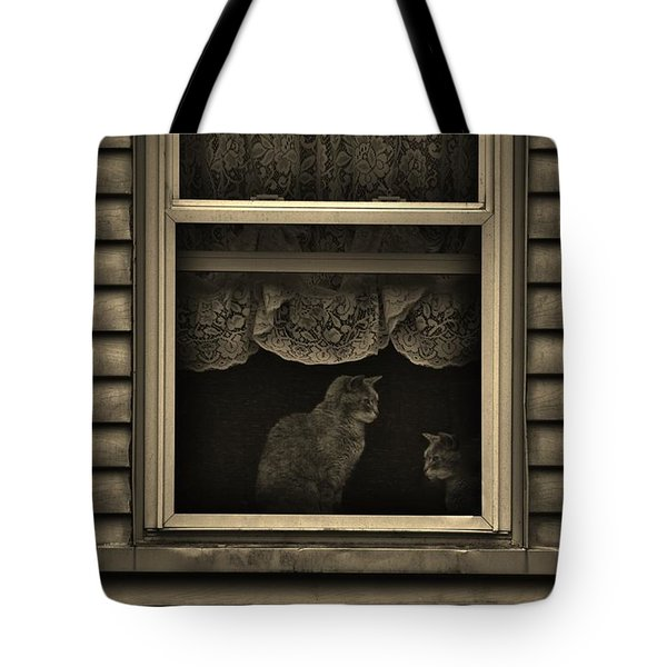 Shared Silence Tote Bag by Robert Geary