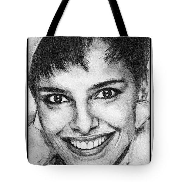 Shari Belafonte In 1985 Tote Bag by J McCombie