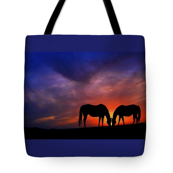 Sharing Supper Tote Bag