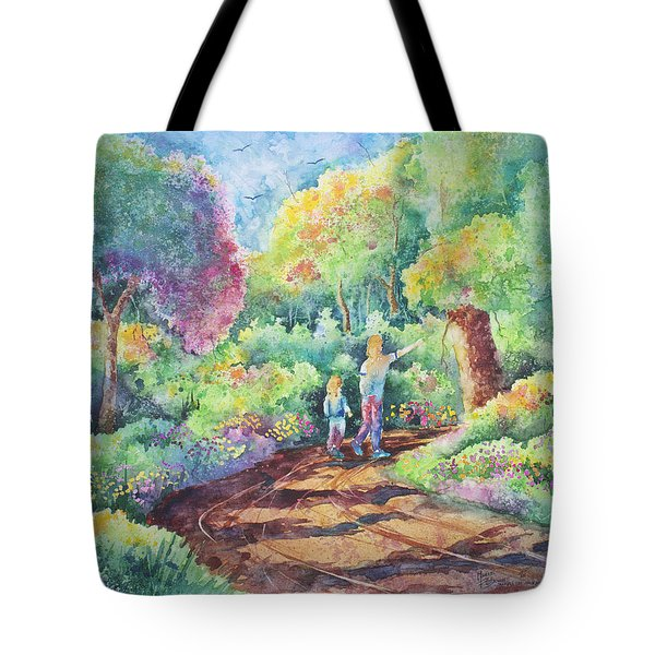 Sharing The Journey Tote Bag by Michael Bulloch