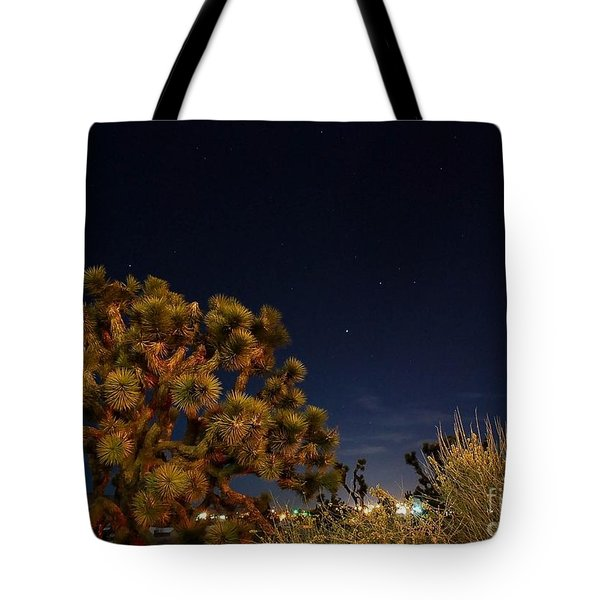Tote Bag featuring the photograph Sharing The Land by Angela J Wright