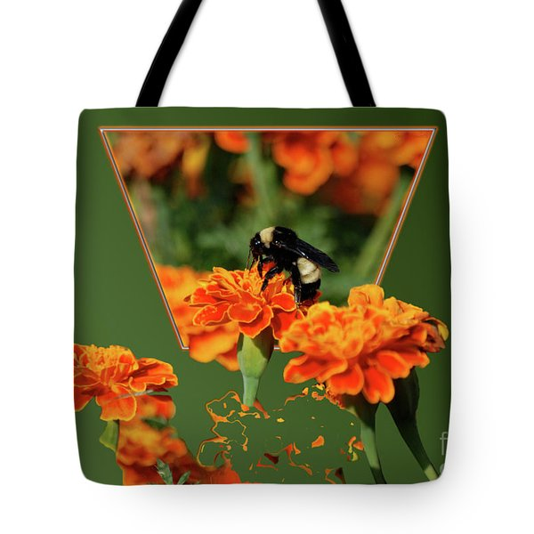 Tote Bag featuring the photograph Sharing The Nectar Of Life by Thomas Woolworth