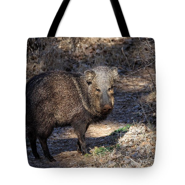 Sharing The Trail Tote Bag