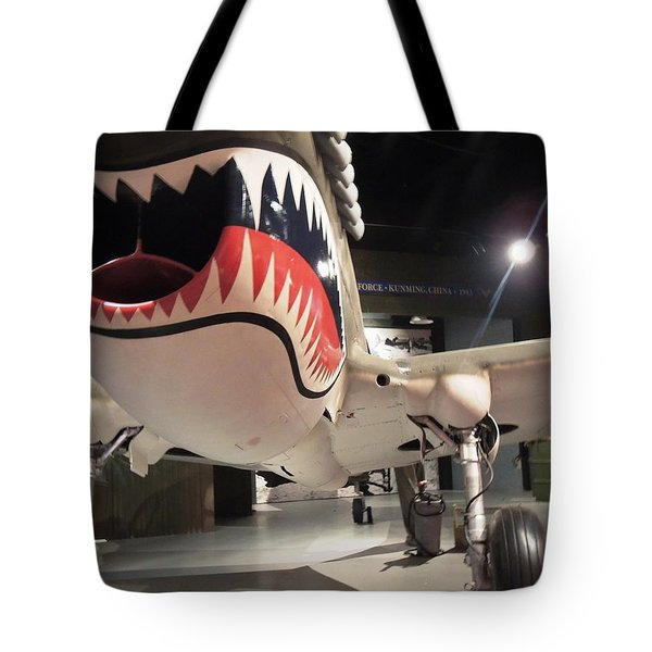 Tote Bag featuring the photograph Shark Aircraft by Aaron Martens