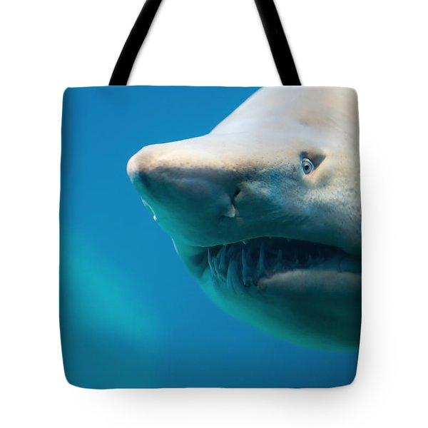 Shark Tote Bag by Johan Swanepoel