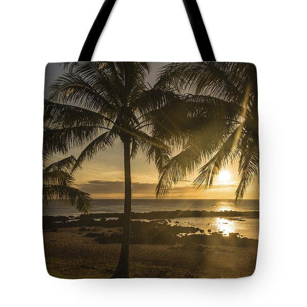 Sharks Cove Sunset 2 - Oahu Hawaii Tote Bag