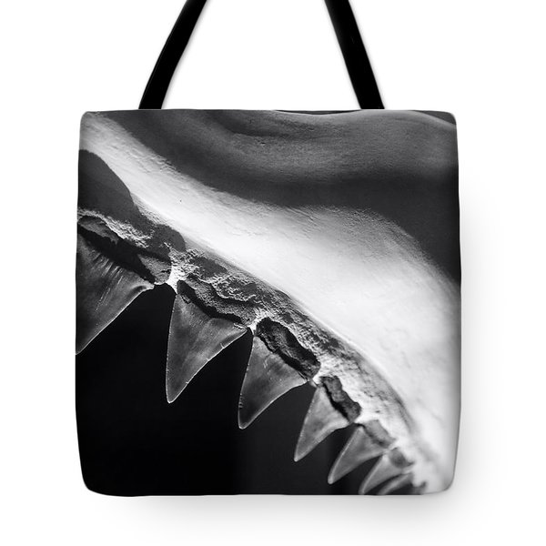 Shark's Teeth Tote Bag