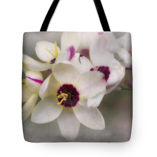 Tote Bag featuring the photograph Sharon by Elaine Teague