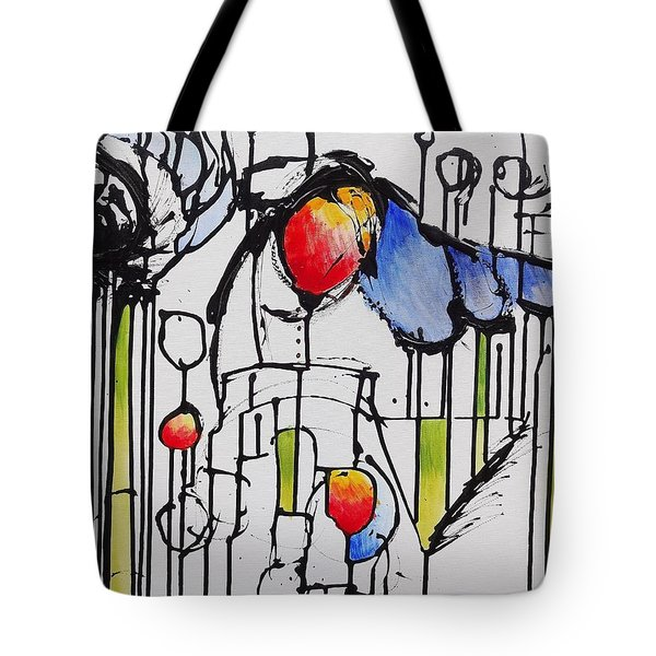 Sharpened Perception Tote Bag
