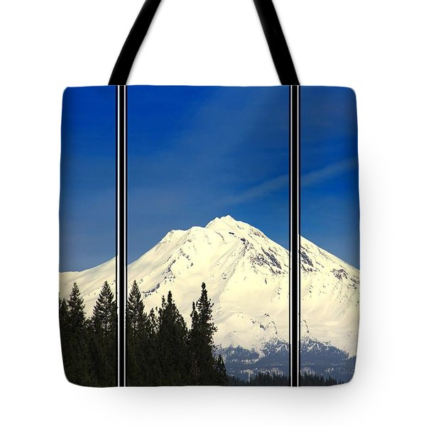 Tote Bag featuring the photograph Shasta by Athala Carole Bruckner