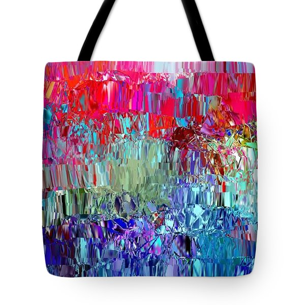 Shattered Tote Bag by The Art of Alice Terrill