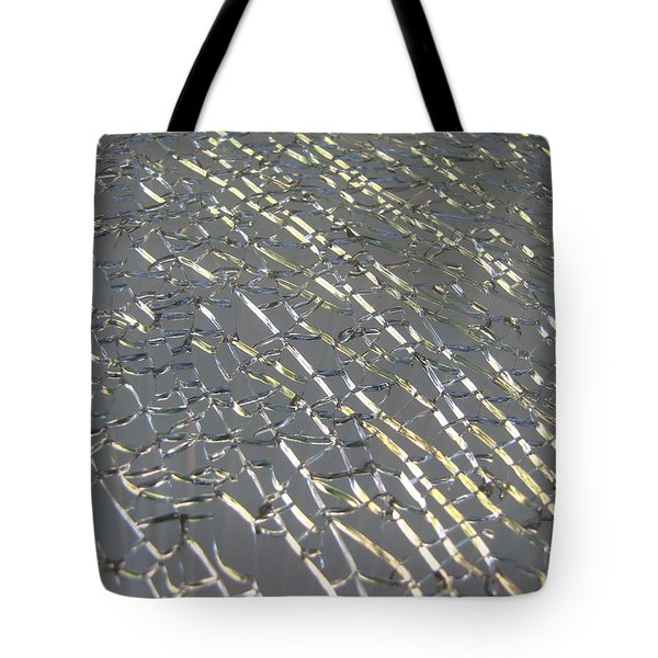 Tote Bag featuring the photograph Shattered by Beth Vincent