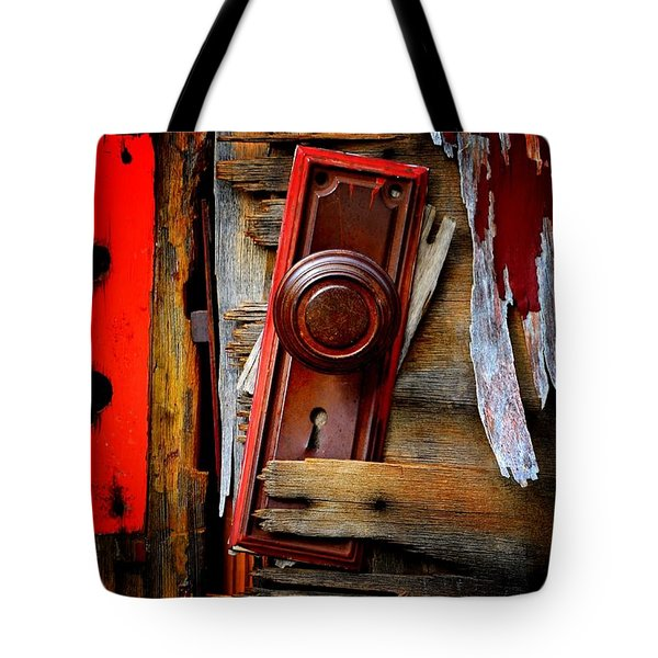Shattered Tote Bag by Newel Hunter