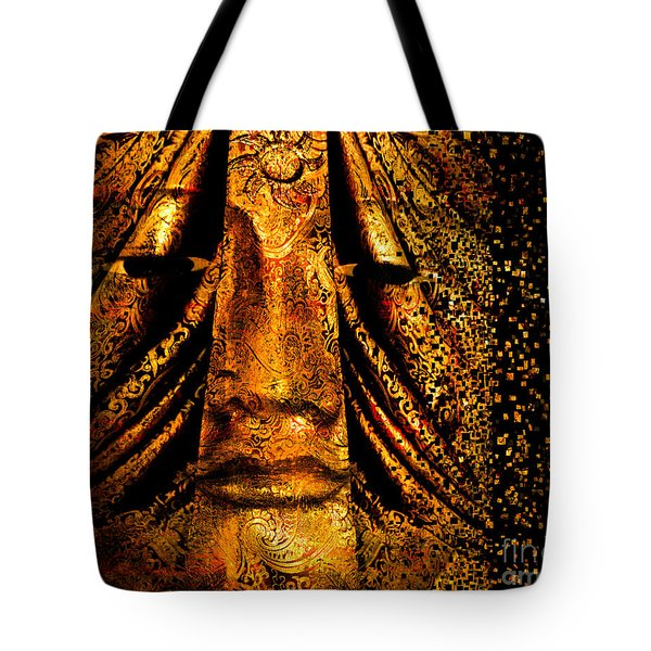 Shattering The Illusion Of Eternity  Tote Bag by Nola Lee Kelsey