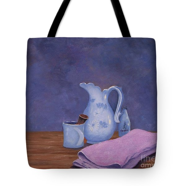 Shaving Mug Tote Bag