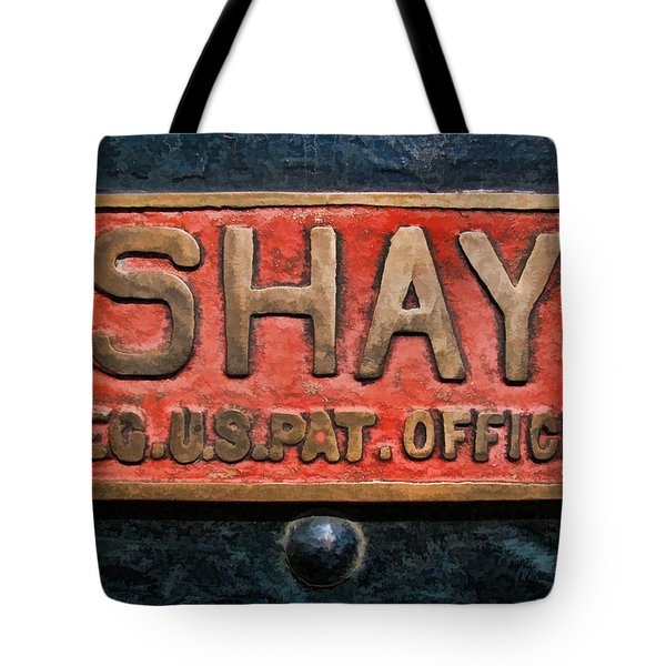 Shay Builders Plate Tote Bag