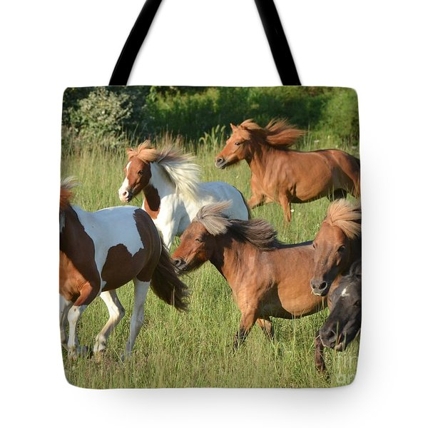 She Has Carrots Tote Bag by Amy Porter