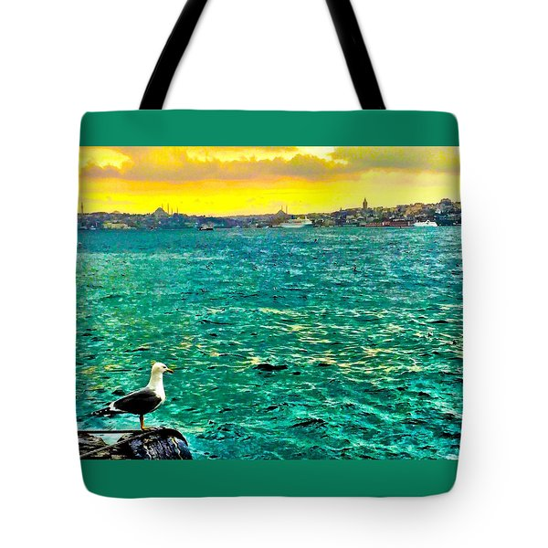 She Is Late Again  Tote Bag