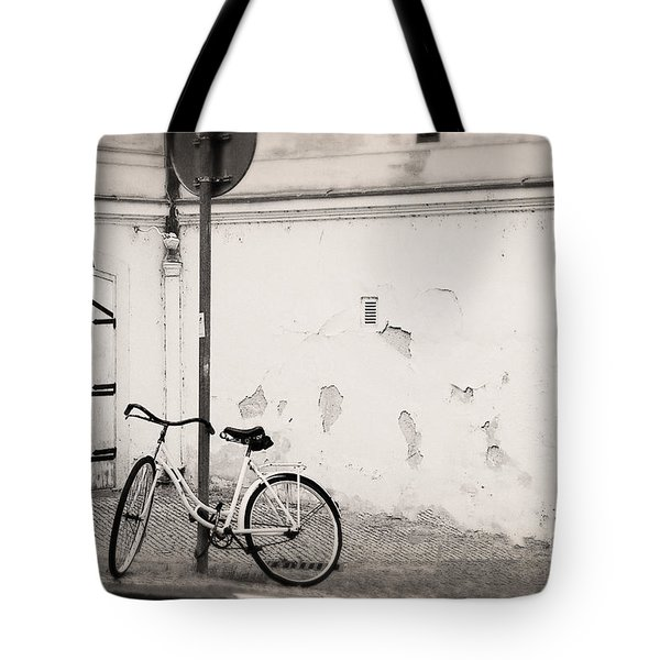 She Is Waiting  Tote Bag