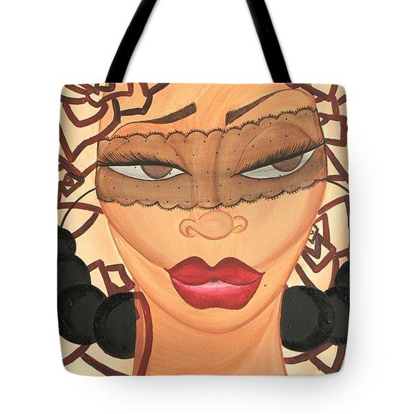 She Knows Tote Bag