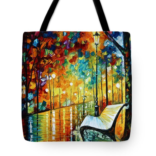 She Left.... New Version Tote Bag by Leonid Afremov
